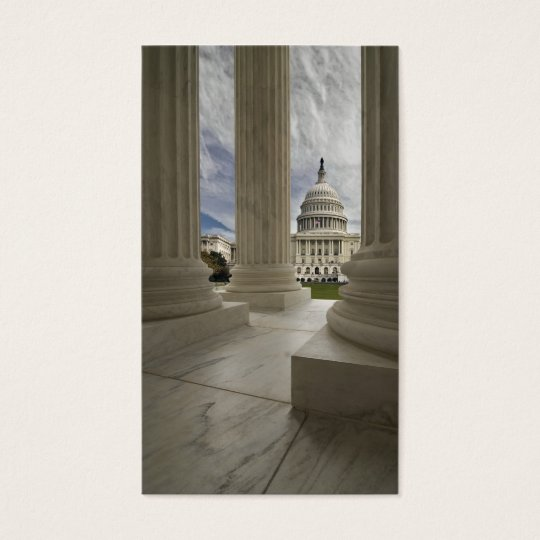 Capital Through Columns Business Card