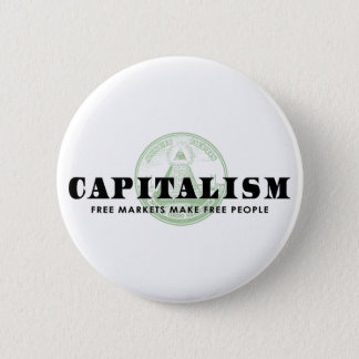Capitalism 6 Cm Round Badge