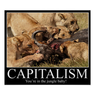 Capitalism Demotivational Poster