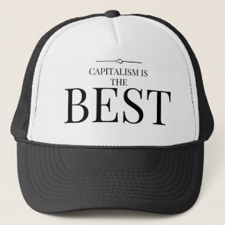 Capitalism is the best trucker hat