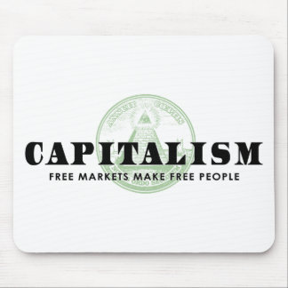 Capitalism Mouse Pad