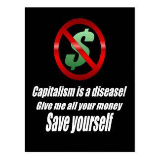 Capitalism Postcard