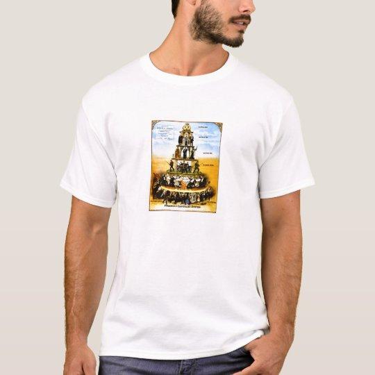 Capitalism's social pyramid T-Shirt