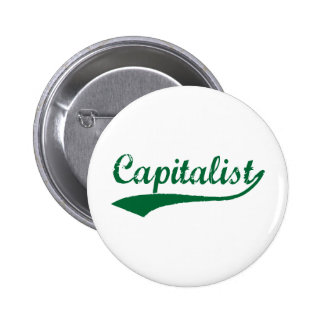 Capitalist 6 Cm Round Badge