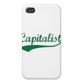 Capitalist Cover For iPhone 4