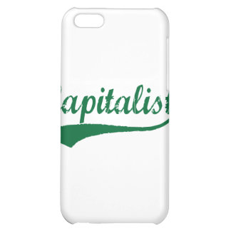 Capitalist iPhone 5C Covers