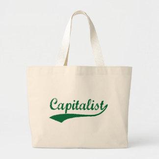 Capitalist Jumbo Tote Bag