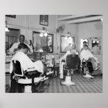 Capitol Barber Shop, 1938 Poster
