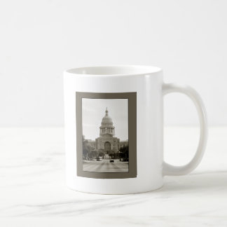 Capitol Building, Austin, TX Basic White Mug