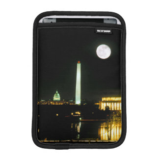 Capitol Building, Lincoln Memorial, Washington iPad Mini Sleeve