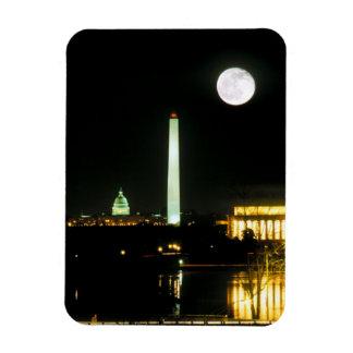 Capitol Building, Lincoln Memorial, Washington Magnet