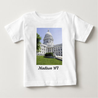 Capitol Building Madison WI Baby T-Shirt