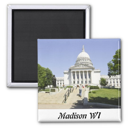 Capitol Building Madison WI Magnet
