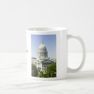 Capitol Building Madison WI Classic White Coffee Mug