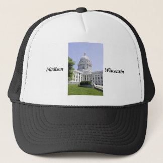 Capitol Building Madison WI Trucker Hat
