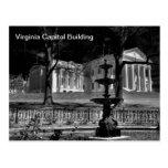 Capitol Building of Virginia Postcard