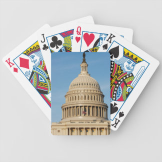 Capitol Building shot at dusk Bicycle Playing Cards