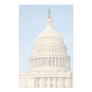 Capitol Building shot at dusk Personalised Stationery