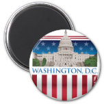 Capitol Building - Washington DC Refrigerator Magnets