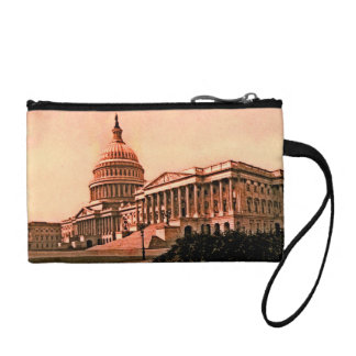 Capitol Building Washington DC Murica America 1900 Change Purse