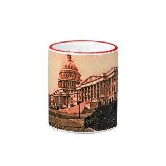 Capitol Building Washington DC Murica America 1900 Mugs