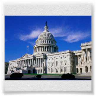 Capitol-Building-Washington-DC Poster