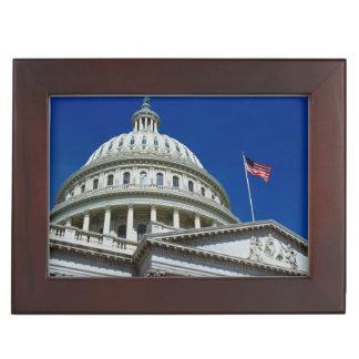 Capitol Building, Washington, USA Keepsake Box