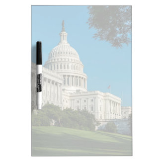 Capitol Building West View Dry Erase Board