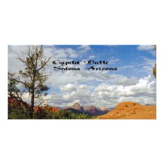 Capitol Butte/Thunder Mountain Custom Photo Card