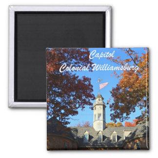 Capitol Colonial Williamsburg Fridge Magnet
