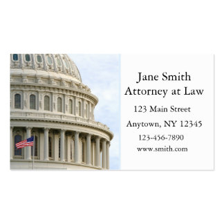 Capitol Dome Business Card