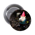 Capitol Garden Gnome 6 Cm Round Badge
