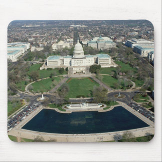 Capitol Hill Aerial Photograph 2 Mouse Pad