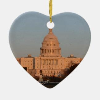 Capitol Hill Ceramic Heart Decoration