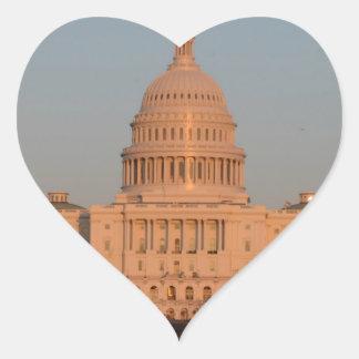 Capitol Hill Heart Sticker
