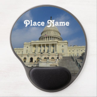 Capitol Hill in DC Gel Mouse Pad