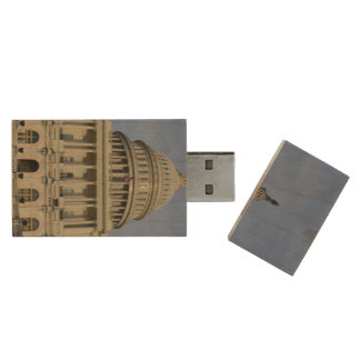 Capitol Hill Wood USB 2.0 Flash Drive