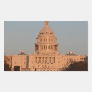 Capitol Hill Rectangular Sticker