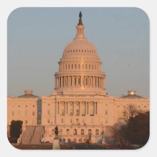 Capitol Hill Square Sticker