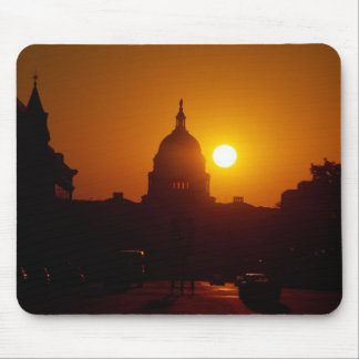 Capitol Hill Sunset Mouse Pad
