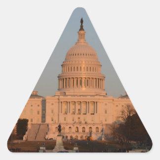 Capitol Hill Triangle Sticker