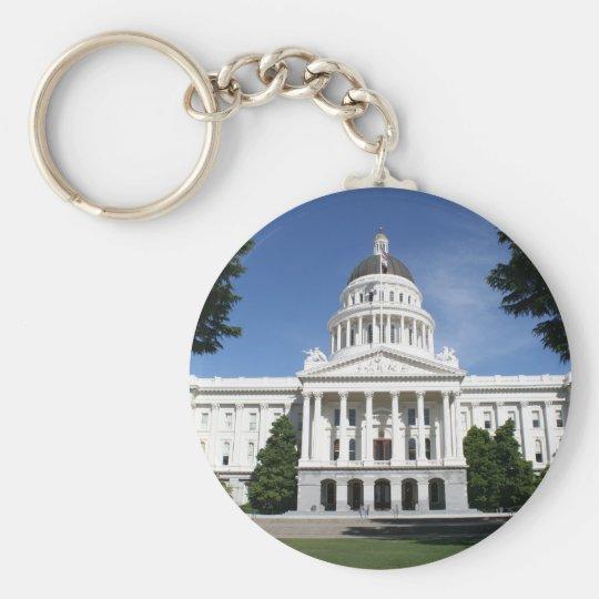 Capitol in Sacramento Key Ring