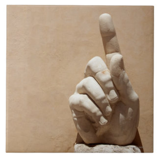 Capitol Museum, hand  from emperor constantine Tile