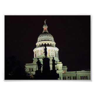 Capitol of Texas Poster
