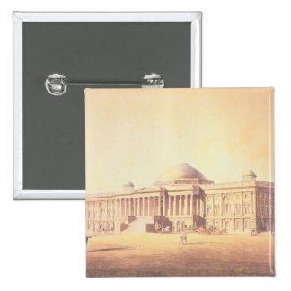 Capitol of the United States, engraved by 15 Cm Square Badge