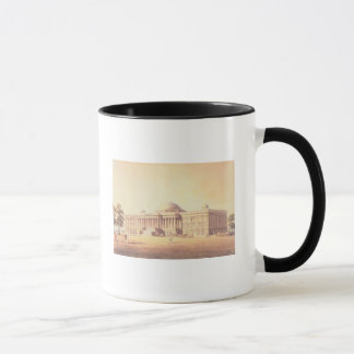 Capitol of the United States, engraved by Mug