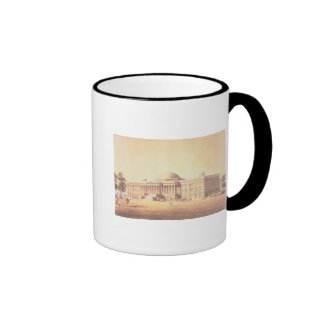Capitol of the United States, engraved by Mugs