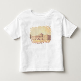 Capitol of the United States, engraved by Tee Shirt