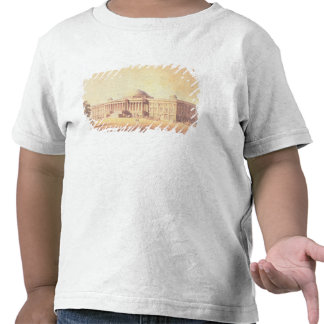 Capitol of the United States, engraved by T-shirts