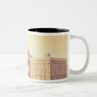 Capitol of the United States, engraved by Two-Tone Coffee Mug
